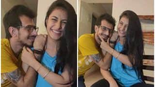 IPL 2020: Yuzvendra Chahal All Hearts as he Wishes Fiancee Dhanashree Verma on Her Birthday